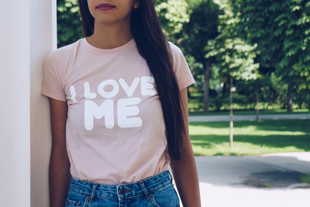 атрактивен дизайн тениска печат на плат