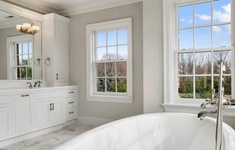 баня с прозорец
