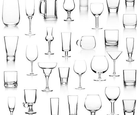различни видове чаши